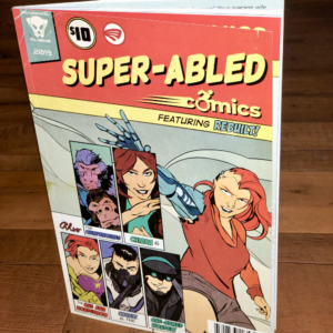 Super Abled Comics book