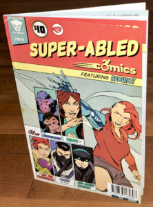 Super-Abled Comics book