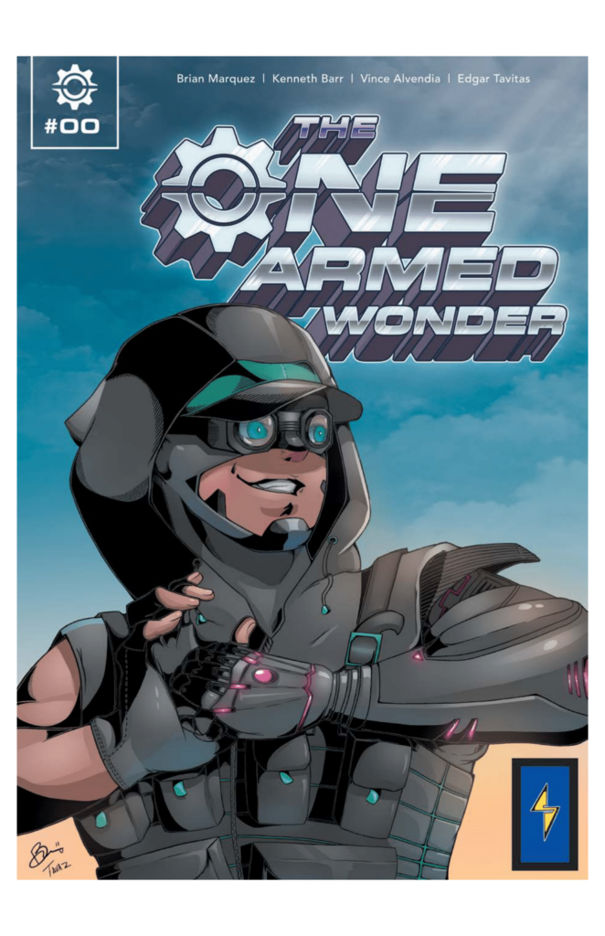 One Armed Wonder comic from Super-Abled Comics