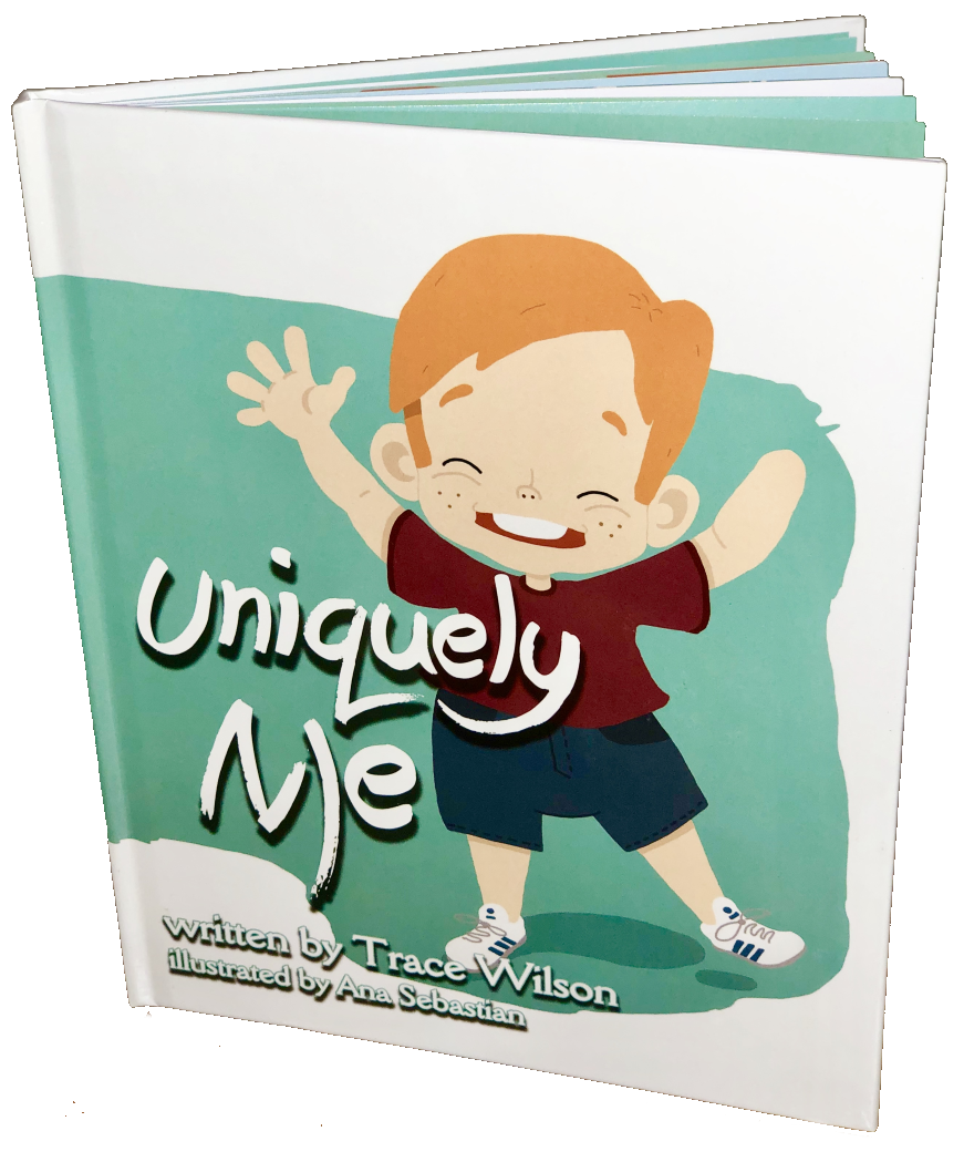 uniquely me childrens book by Trace Wilson